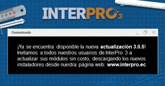 Descargar Módulos De Software De Interpro 3 Interpro